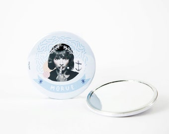 Pocket mirror 7,5 cm / Morue Forever