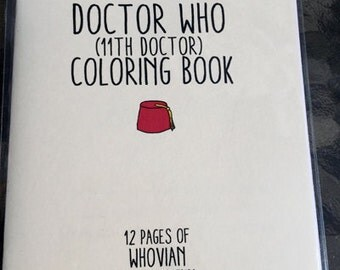 Doctor Who 11th Dr Coloring Book