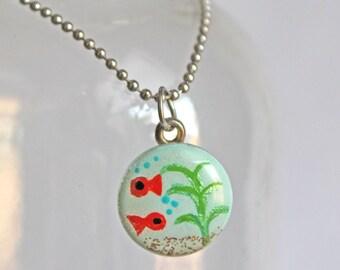 Mini Aquarium Glass Pendant