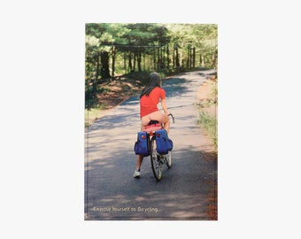 vintage 80s Expose Yourself to Bicycling 1980 RPP Company bike biking biker cyclist nude naked rique novelty poster 21x31