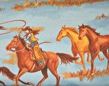 Queen of the Ranch - Cowgirls, Moda Classic, for Moda Fabrics, 100 Percent Cotton, 1 yard cut