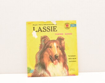 TV's Adventures of Lassie -- A Golden Record  --  1950's --  Theme Song