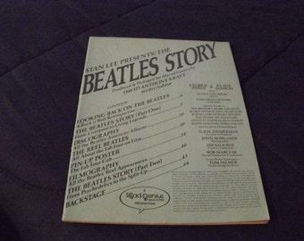 Stan Lee Presents: The Beatles Story by David Anthony Kraft Vintage 1978 Comic Book
