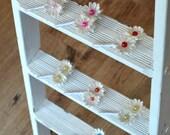 Paper Flower Button Buttonhole / Boutonnière Alternative Wedding