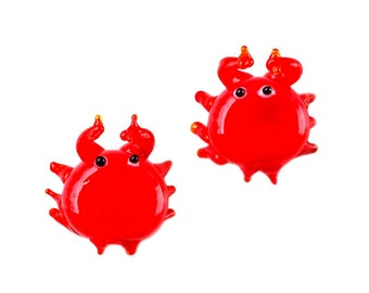 Crab Cufflinks - Crabs - Groomsmen Gifts - Gifts For Men - Gift Box Included