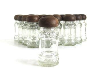 Empty Spice Jar(s) Glass Bottle Made in Taiwan (fits vintage spice racks)
