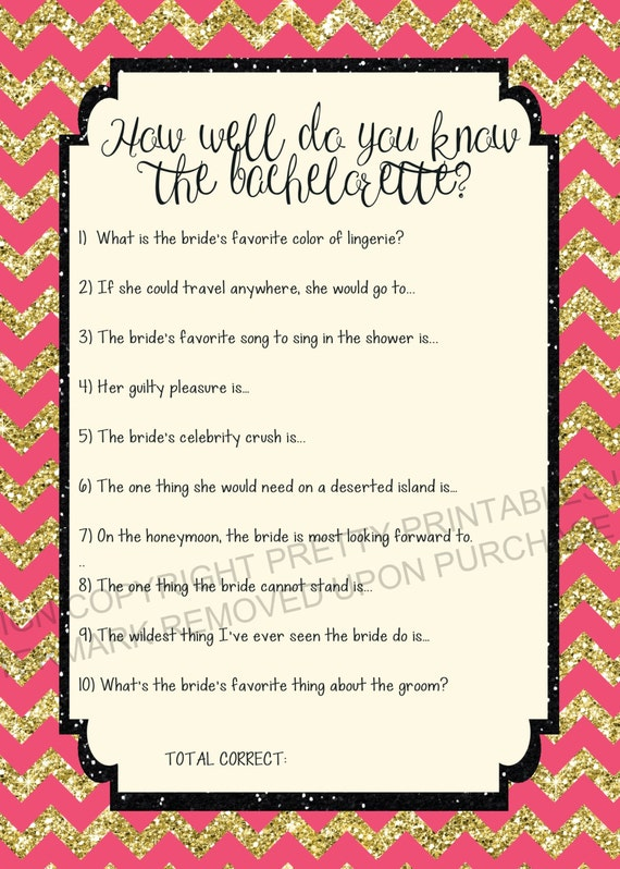 Fabulous image for printable bachelorette games