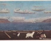"""I. Vylko (Cape """"Drovyanoye"""") Postcard -- 1978"""