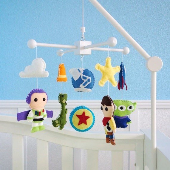 Toy Story Baby Mobile Baby Crib Mobile Woody Buzz Nursery