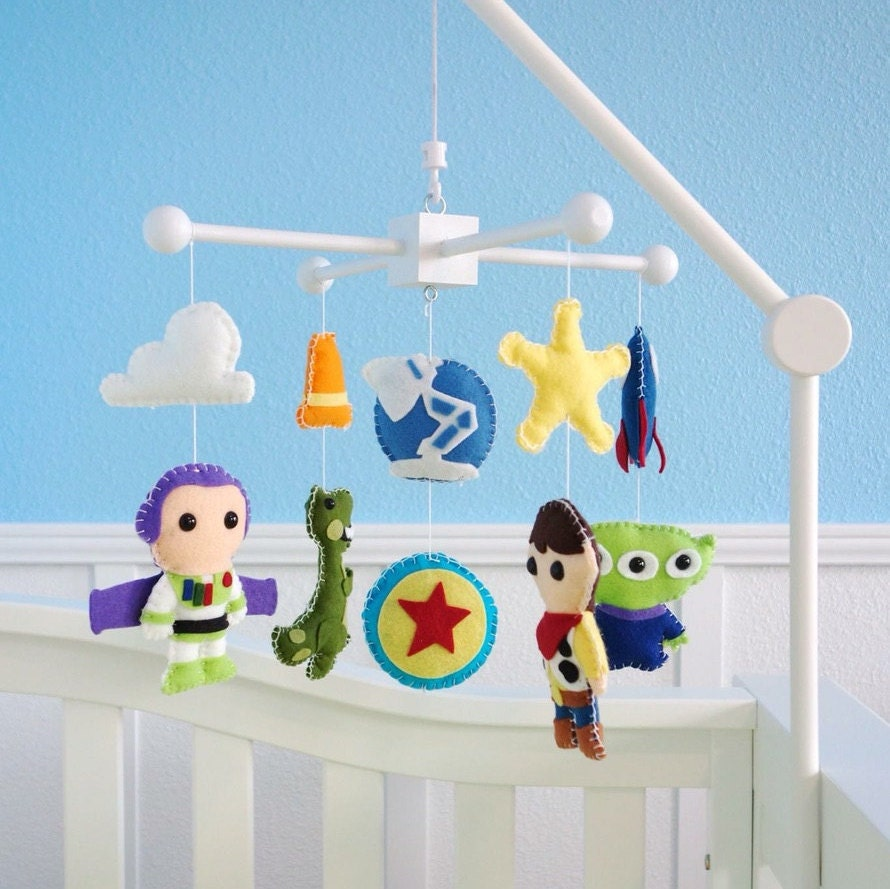 Crib mobiles bad for babies - Toy Story Baby Mobile Baby Crib Mobile Woody Buzz Nursery Inspired By