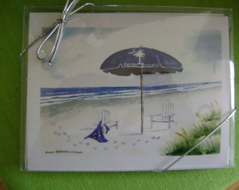 South Carolina Notecards Packaged 5 to Clear Box and 5 Envelopes