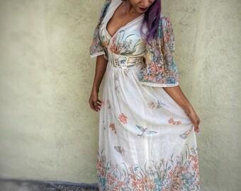 Dress, Women's Dress, Vintage Dress, This Is Yours, San Francisco, Vintage, Bohemian Dress, Bohemian Bride, Wedding, Wedding Dress