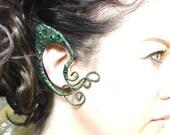 Dragon ear cuffs ear wraps pick any colour base fairy pixie elven ears