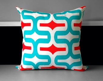 "Pillow Cover - Embrace Calypso 20"" x 20"" Ready to Ship"