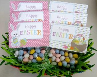 Brunch party favor etsy easter favor bags gift bags digital download egg hunt easter brunch goodie bags negle Gallery