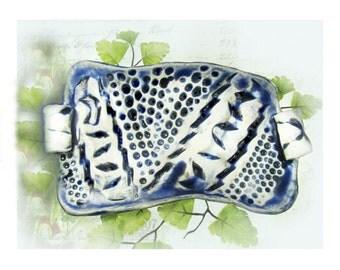 Ceramic Pottery dish,Ceramic Tray, Serving Tray, Pottery Tray,  #69