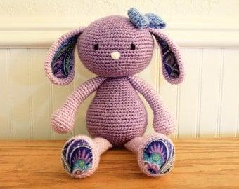 MADE TO ORDER- Crochet Bunny, Amigurumi bunny rabbit, stuffed animal toy, baby gift