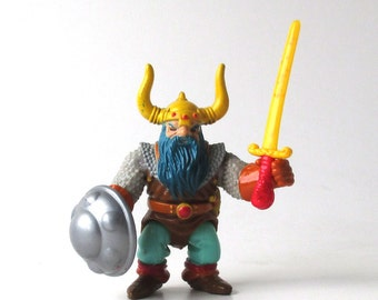 Elkhorn Dungeons and Dragons Figure 1983, the Good Dwarf with Sword and Shield, Advanced Dungeons and Dragons, AD & D, TSR