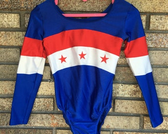 Vintage Leotard / Bodysuit / Gymnastics / Dance Wear