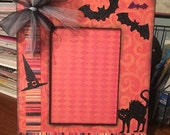 Reserved for Denise/ 5 x 7 Halloween picture frame