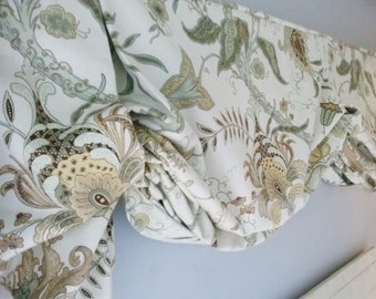 how to make a faux relaxed roman shade valance