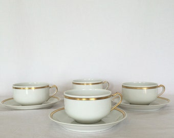 Tea Cup Set Suomi Haviland & Co. Limoges Holds 200ml