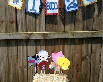 Barnyard Farm Animals Party Decor