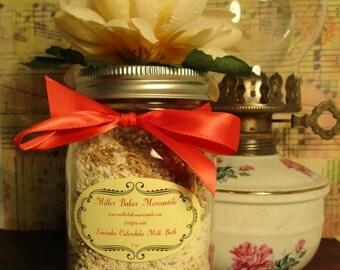 Lavender Calendula Milk Bath-8 ounces