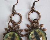 Delia Dragon's Eye Earrings