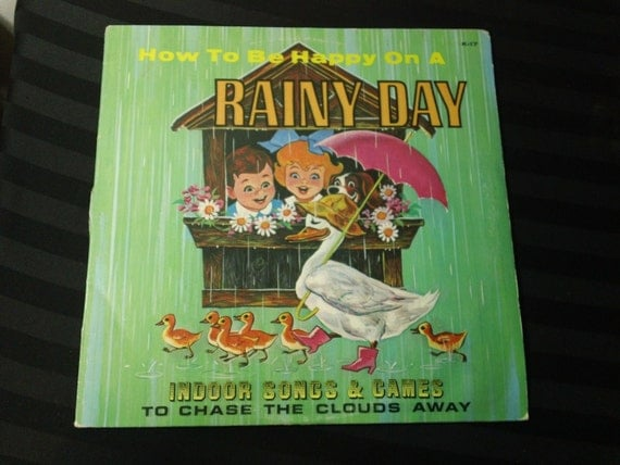 How to be happy on a rainy day indoor songs games to chase like this item ccuart Gallery