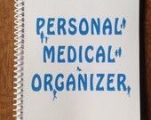 Medical Organizer - Medical History -  Medical Information - Medical Kit - Medical- Organizer - Planner