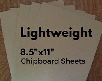 Chipboard Chip Board Sheets / Light Weight Chipboard Cardboard /Recycled Thick Kraft Board / Brown Paper Board Sheets