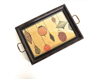 Mid-Century Serving Tray