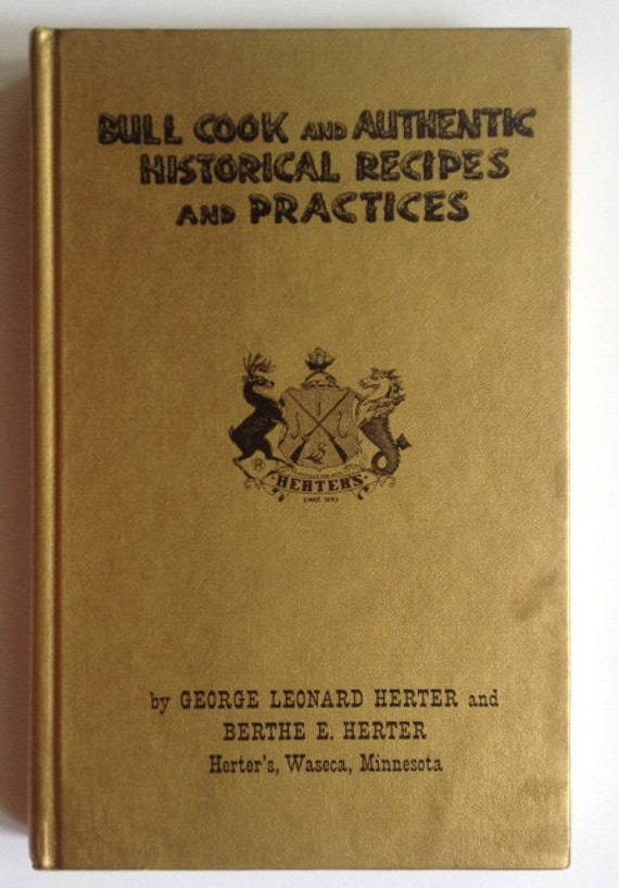 Mimsy Review: Bull Cook Historical Recipes