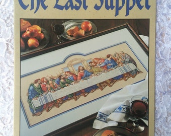 The Last Supper Counted Cross Stitch Pattern Chart, Leisure Arts 2768