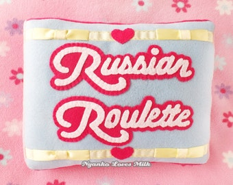 Red Velvet Russian Roulette Pillow