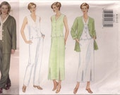 Butterick Sewing Pattern 6014 - Misses'/Miss Petite Jacket, Duster, Skirt & Pants (8-12, 14-18, 20-24)