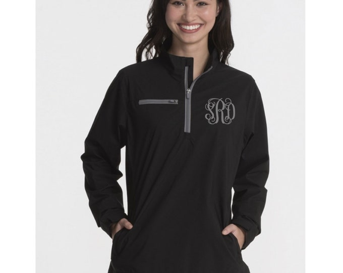 Monogrammed Pullover, Charles River Pullover, Monogrammed Gifts, Lightweight Monogrammed Pullover, Monogram Jacket