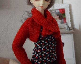 1/3 doll ~ knitted Bolero | BJD