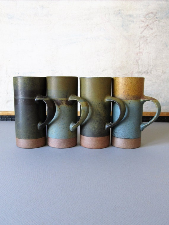 vintage usa pottery mugs eBay
