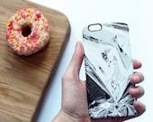 Foil print phone case