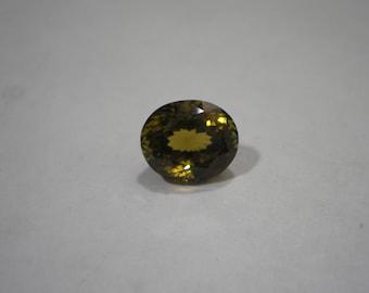 Loose Rare Collectors Gemstone Golden Brown Sinhalite Over 5.5 Carats