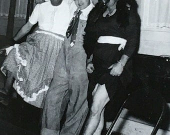 Guys Will Be Gals Crossdressing Vintage Photo