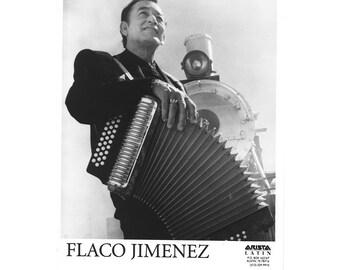 Flaco Jimenez Publiciy Photo   8 by 10 Inches