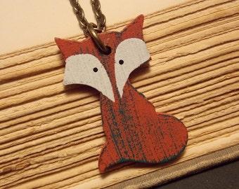 Kawaii Fox Necklace