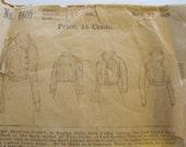 1920's Raglan Style Blouse Waist Butterick Sewing Pattern, Blouse, Sewing Pattern, 1920's, Butterick Publishing Co., Women's, No. 6805,