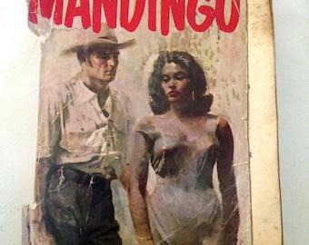 Sale Rare Vintage Book, Mandingo- Kyle Onstott PB-Crest Book- Incensored Abridgment