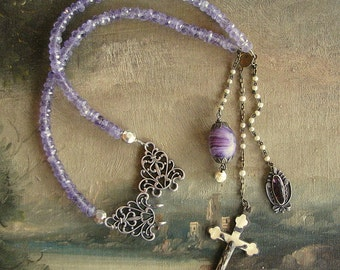 Purple Passion Amethyst Necklace