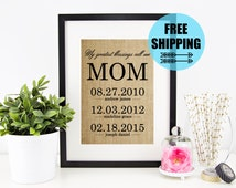 ON SALE! Mother's Day From Daughter | Personalized Mother's Day Gift | Birthday Gift for Mom | Mother's Day Gift from Son | Mom Gift |