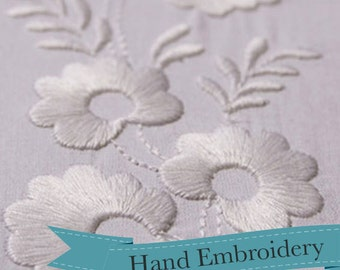 Historical Hand Embroidery Design - 1812 Trio of Borders - RR107H